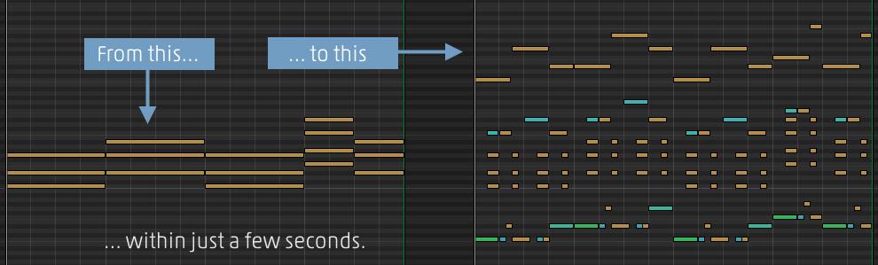 ChordPotion MIDI effect plug-in