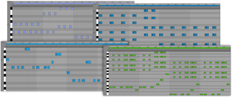 Generated MIDI
